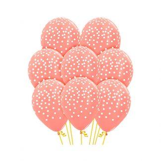 30cm Confetti Balloons 12PK