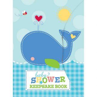 Ahoy Baby Boy Keepsake Book