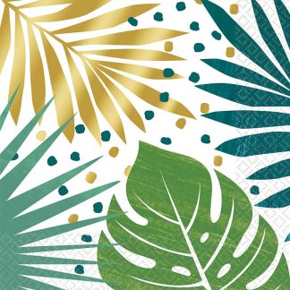 Lunch Napkins Palm Leaves