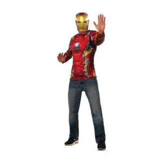 IRON MAN ADULT COSTUME TOP