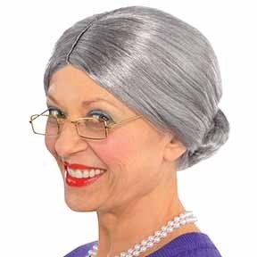 Wig Old Lady