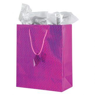 Gift Bag Holograph 11x14cm