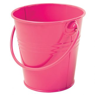 Party Painted Tin Bucket 11x11cm