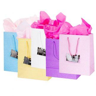 Glitter Gift Bag 25x30cm