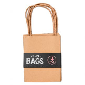Kraft Bags 14x11x6cm