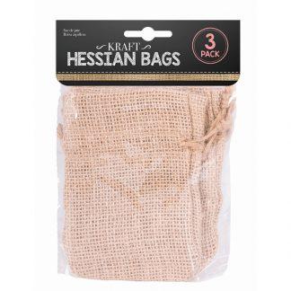 Hessian Bag 10 X 14cm