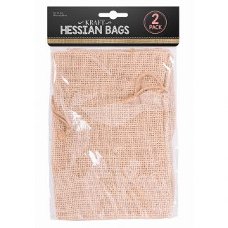 Hessian Bag 20 X 15cm