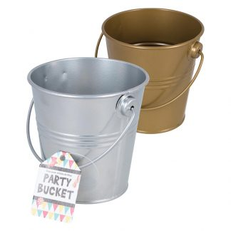 Party Bucket Gold & Silver