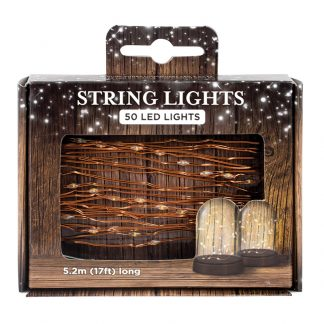 Led Lights On String