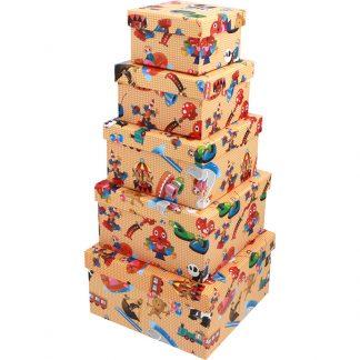 Gift Box Circus Theme