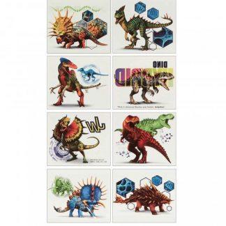 Jurassic World Tattoo Favors