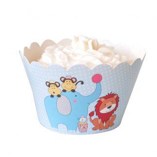 Circus Cupcake Wrapper