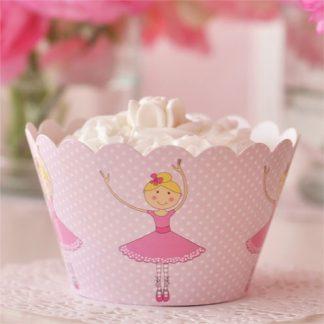 Ballerina Cupcake Wrapper