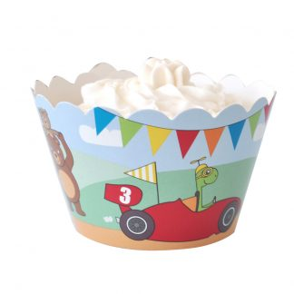 Racing Cars Cupcake Wrapper
