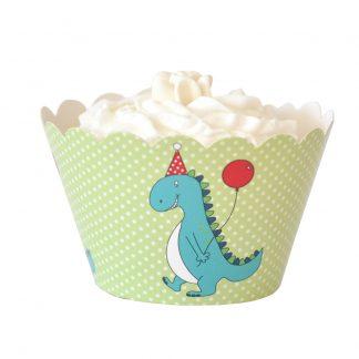 Dinosaur Cupcake Wrapper