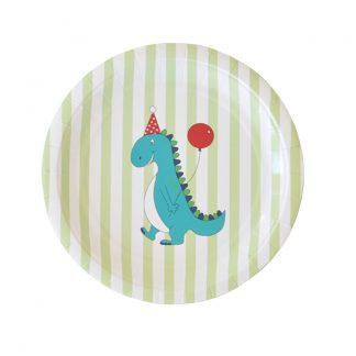Dinosaur Dessert Plate