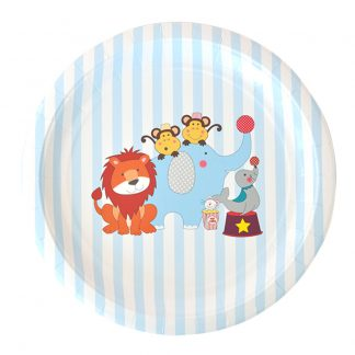 Circus Animals Plate