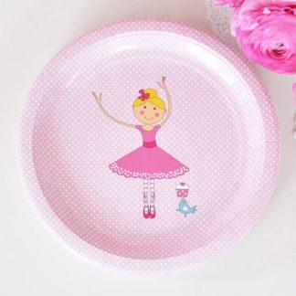 Ballerina Large Plate