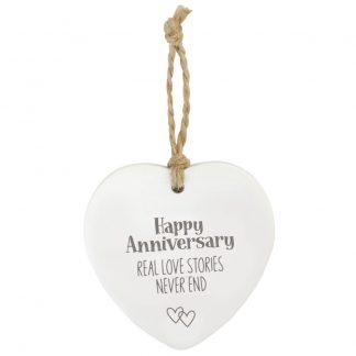 Anniversary Loving Hanging Heart