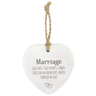 Wedding Loving Hanging Heart