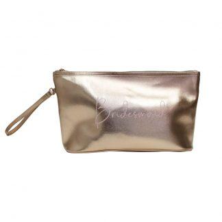 Wedding Bridesmaid Cosmetic Bag L