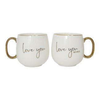 Wedding Love You Mug Set