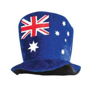 AUS FLAG FELT SOFT HAT