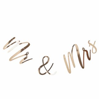MR & Mrs Banner Gold