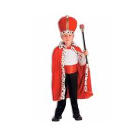 King Robe & Crown Set-Red