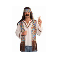 Hippie Shirt, Vest & Headband