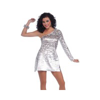 70's Disco Honey Dress