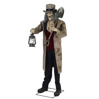 Animated Grave Digger