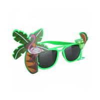 Tropical Cocktail Green Sunglasses