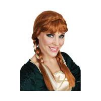 Plaits Auburn Wig