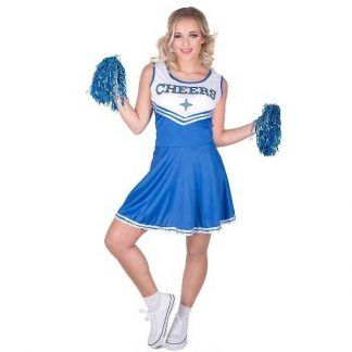Cheerleader Blue Costume