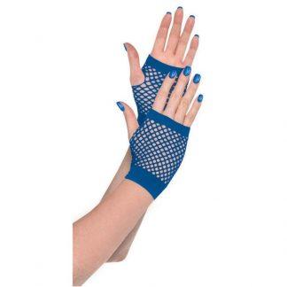 Blue Fishnet