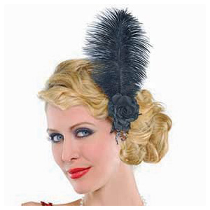 Jazzy Feather Hairclip