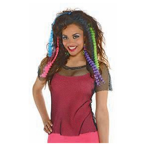 80s Crimped Hair Ext