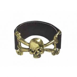 Pirate Skull Cuff Bracelet