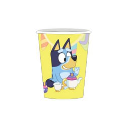 Bluey 266ml Paper Cups - PRE ORDER NOW