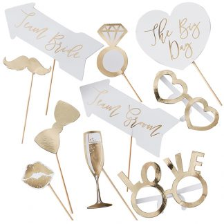 Gold Photo Props