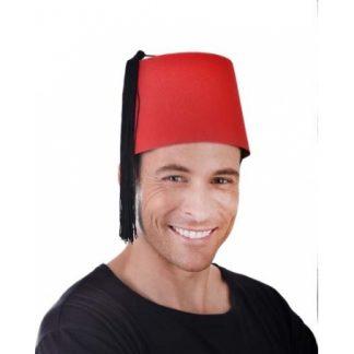 Fez Hat Red