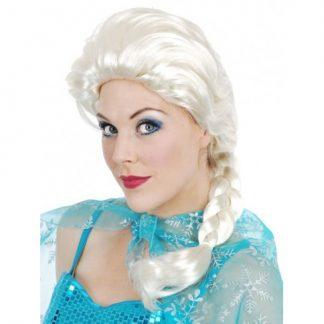Elsa Plait White Wig