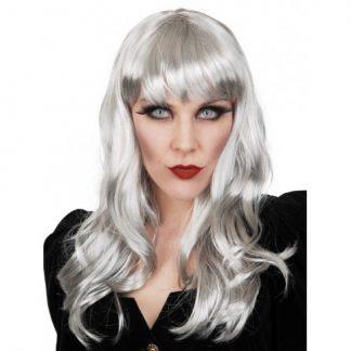 Grey Long Wig