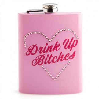 Drink Up B*tches Metal Flask