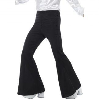 Flared Trousers - Black