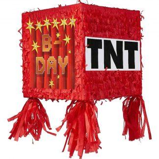 TNT 3D Shape Pull String Pinata