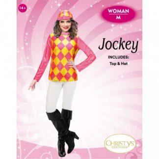 WOMENS JOCKEY TOP & HAT / L-XL
