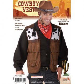 WILD WEST COWBOY VEST