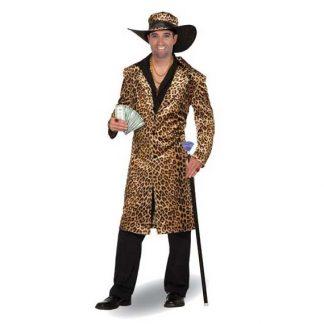 Leopard Coat & Hat